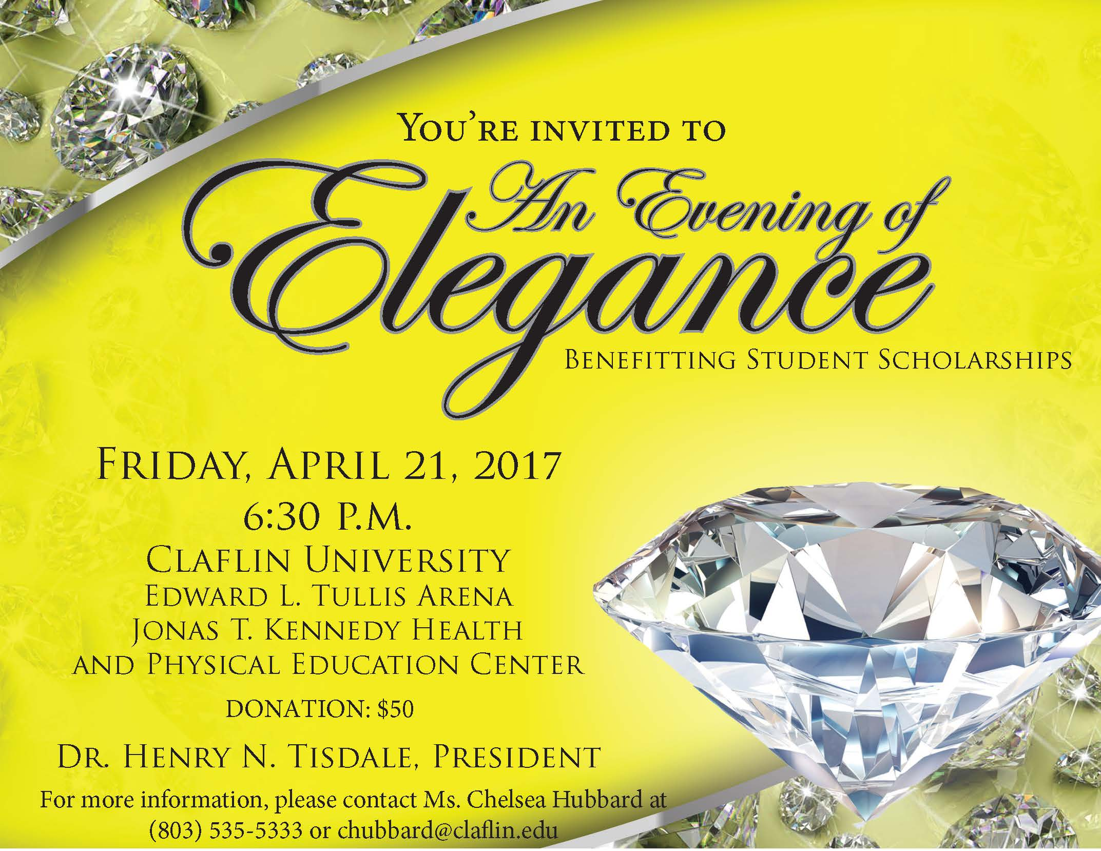 2017 Evening of Elegance Flyer (Revised 4.5.17)