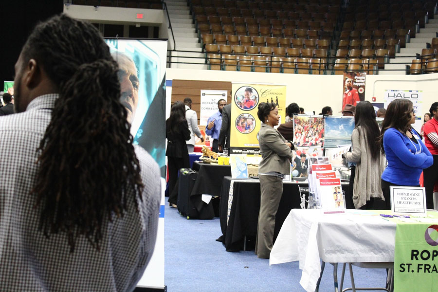 CAREER FAIR 2018 jelah anderson
