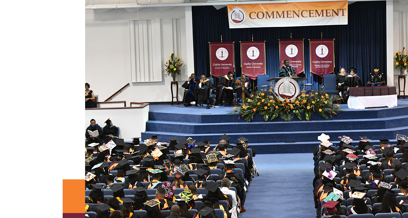 Fall Commencement banner