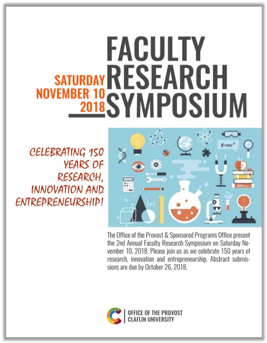 Faculty Research Symposium Fall 2018