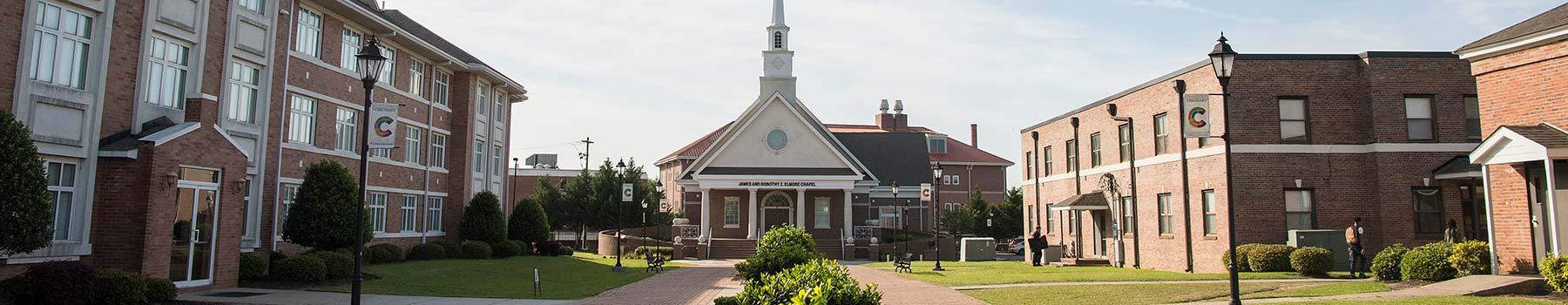 Campus chapel and quad