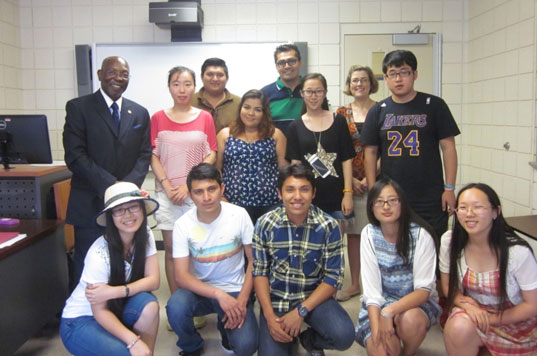 Intensive English Language Program student group