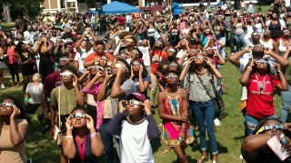 PANTHER 2017 fall eclipse viewing