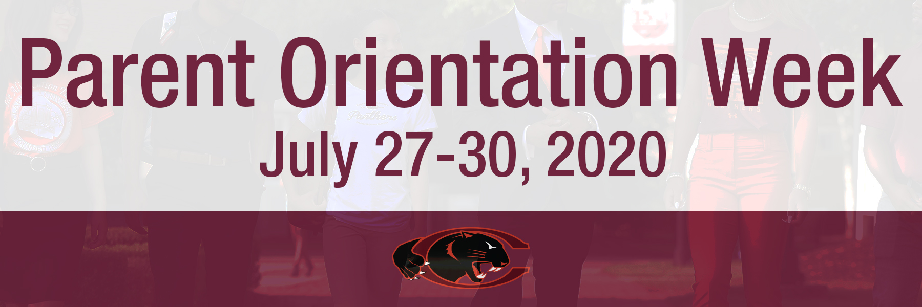 Parent Orientation Week